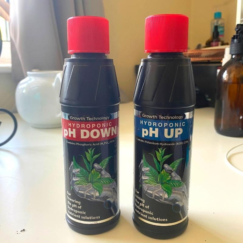 ph up and down for leca
